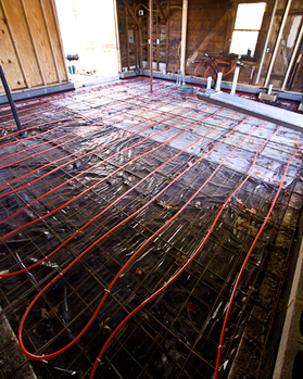 Concrete Radiant Floor
