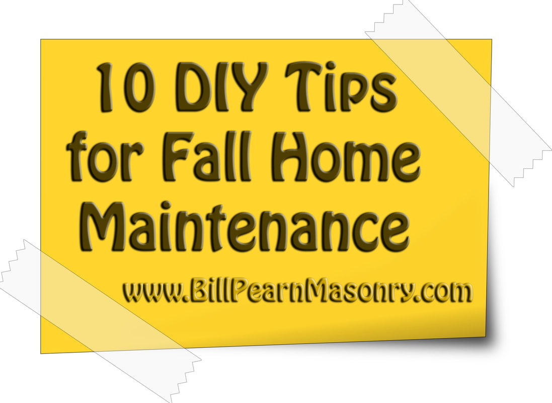 10 DIY Fall Home Maintenance Tips