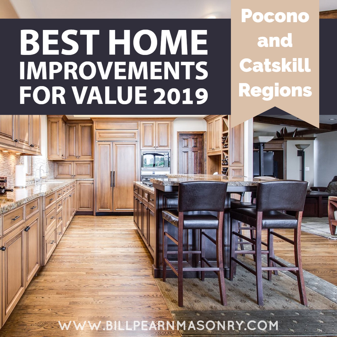 Best Home Improvements for 2019 poconos catskills