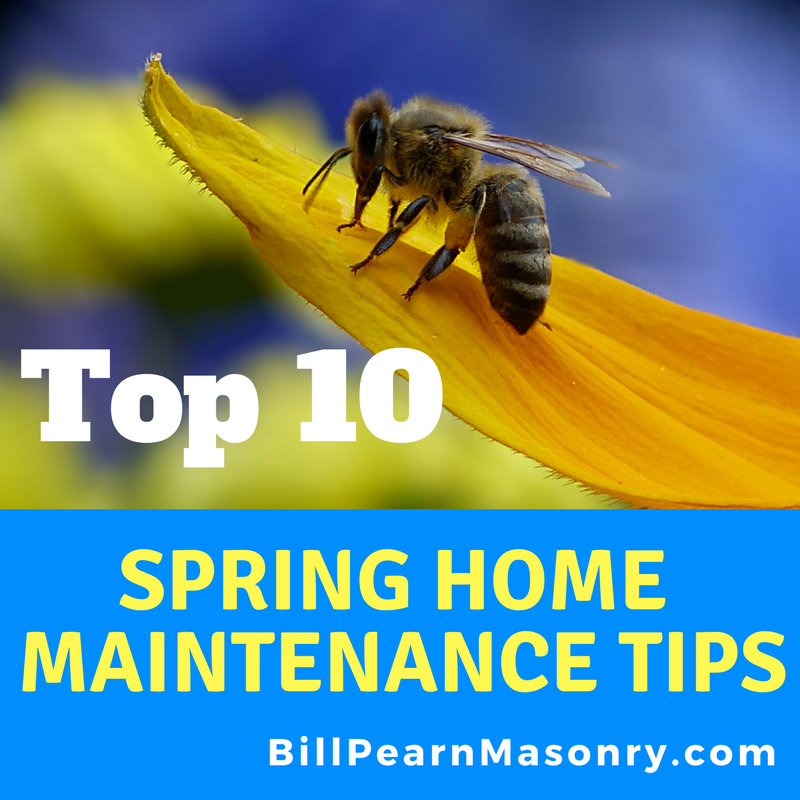 Spring home maintenance checklist PDF