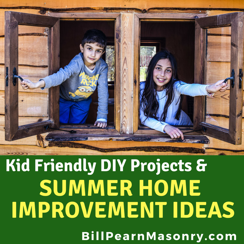Summer Home Improvement Ideas Kid Friendly DIY Projects