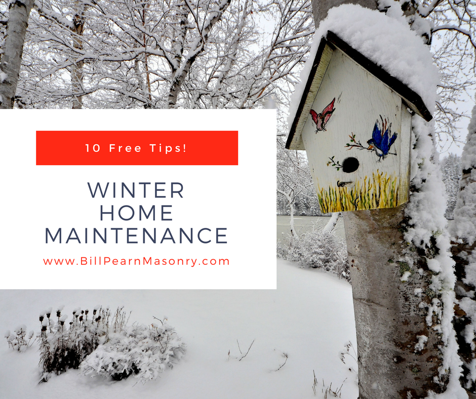 10 tips for winter home maintenance